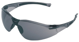 1015368 A800 Grey TSR Hard Coat Safety Spectacle