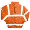 Class 3 High Visibility Bomber Jacket - Orange