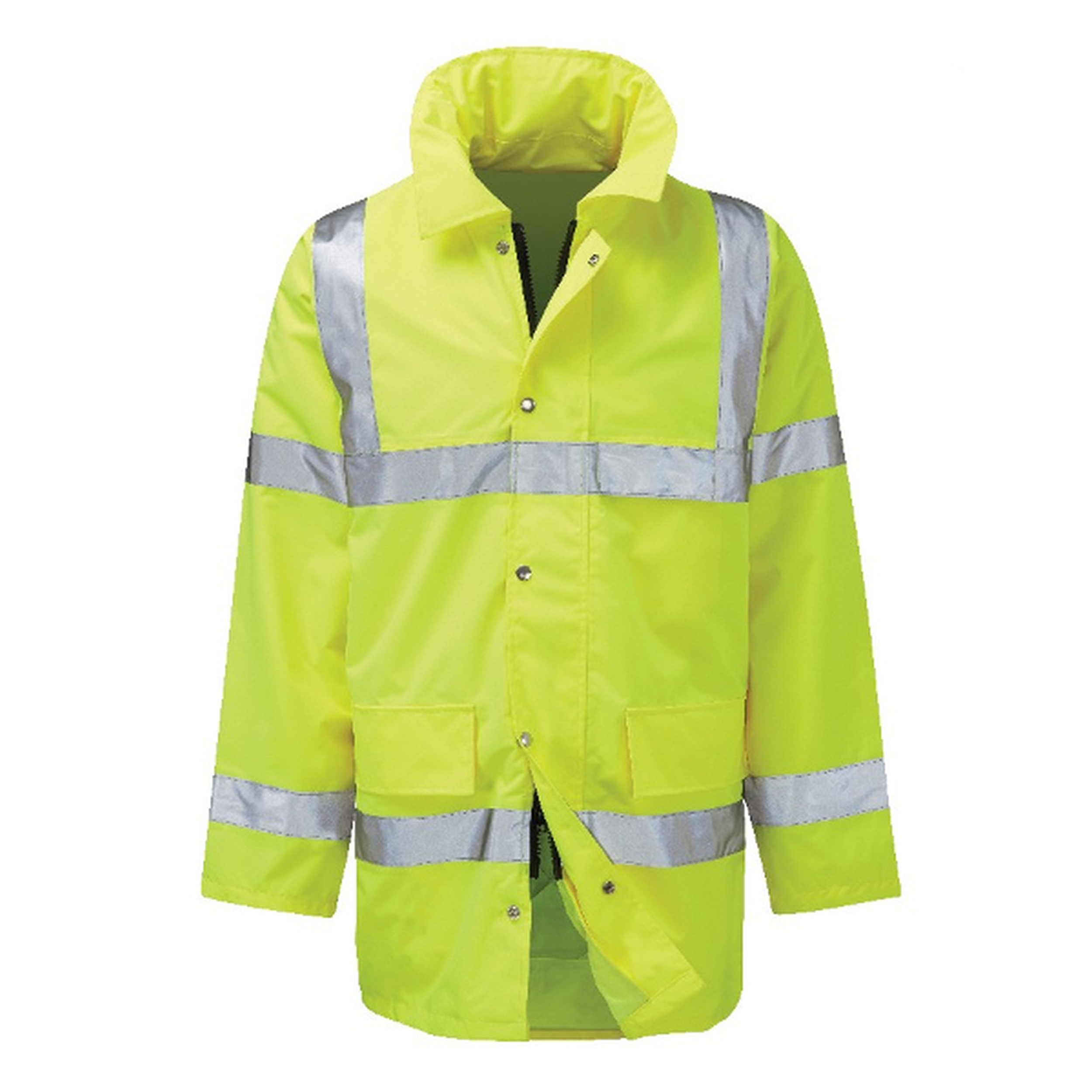 FWEJ Geraint Hi-Vis Yellow Traffic Jacket