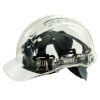 Portwest PV50 Peak View Translucent Vented Safety Helmet